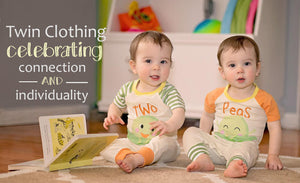 twin baby clothing, gift for twins