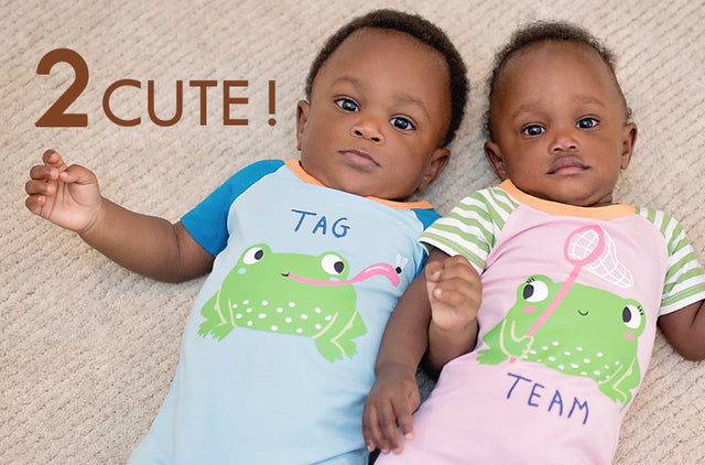 shopping for twins, twoborn, 2born, coordinated twin clothing
