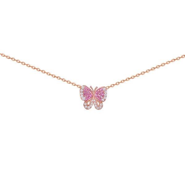 Butterfly Small Pendant Rose
