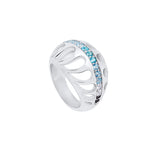 Mari Rush Ring Silver