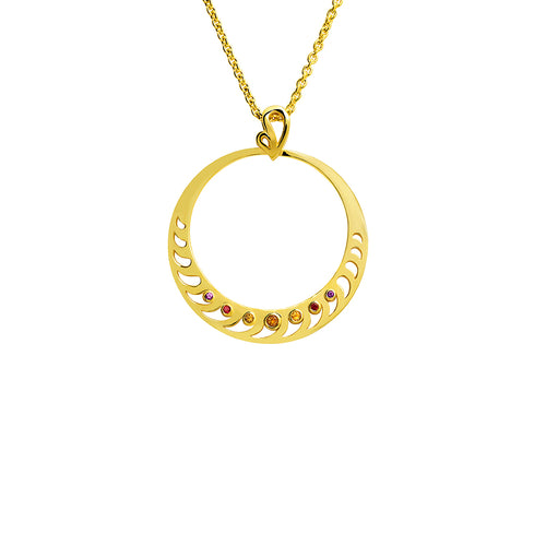 Mari Rush Pendant Yellow