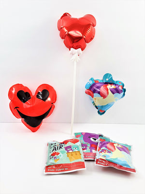 Valentine Balloons - Self-Inflating - The Last Word Bish