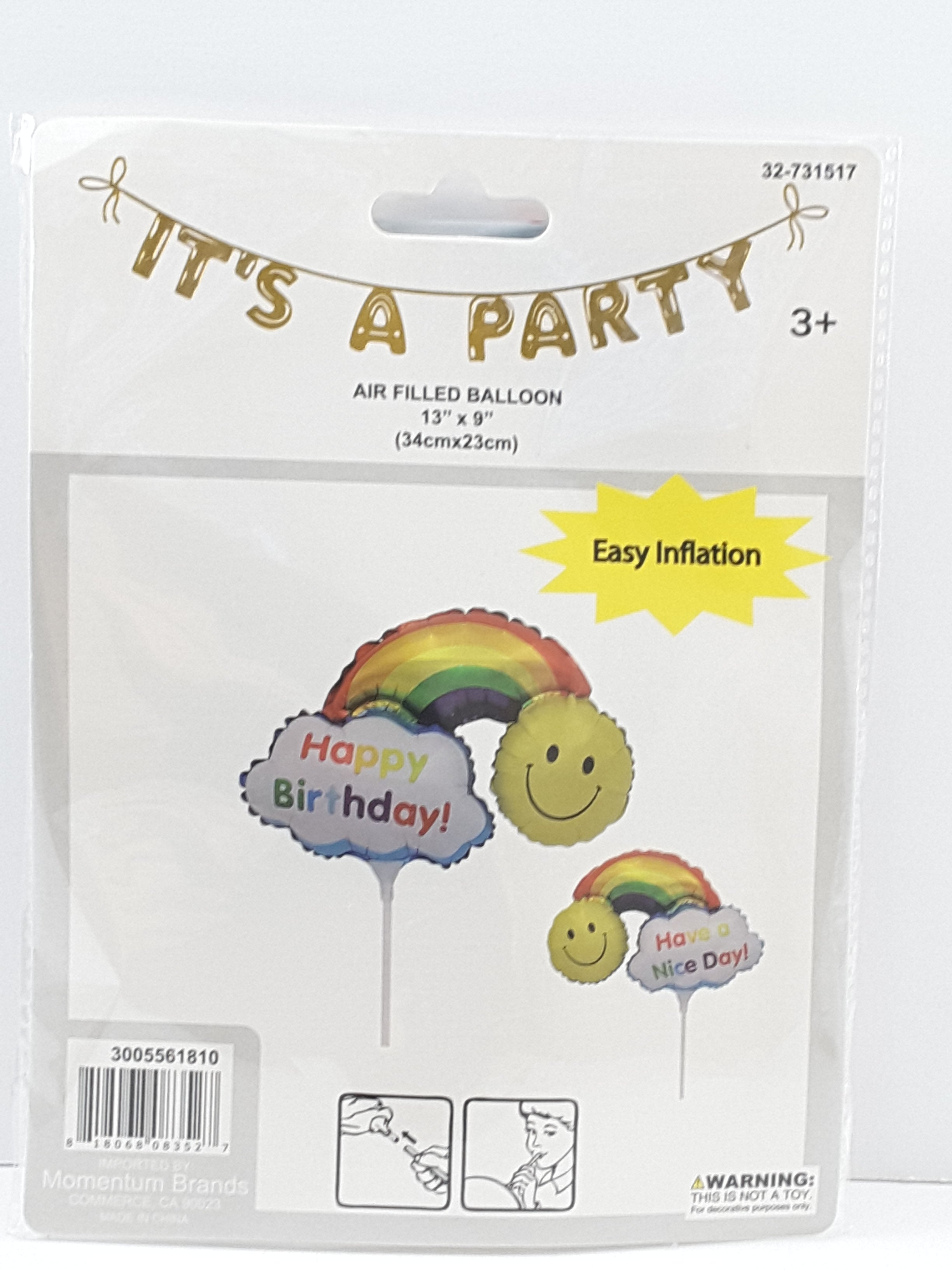 Assorted Happy Birthday Balloons - TheLastWordBish.com
