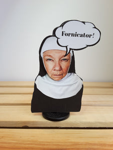 SISTER MARY MENOPAUSE  3D GREETING CARD GIFT- choice of 4 versions