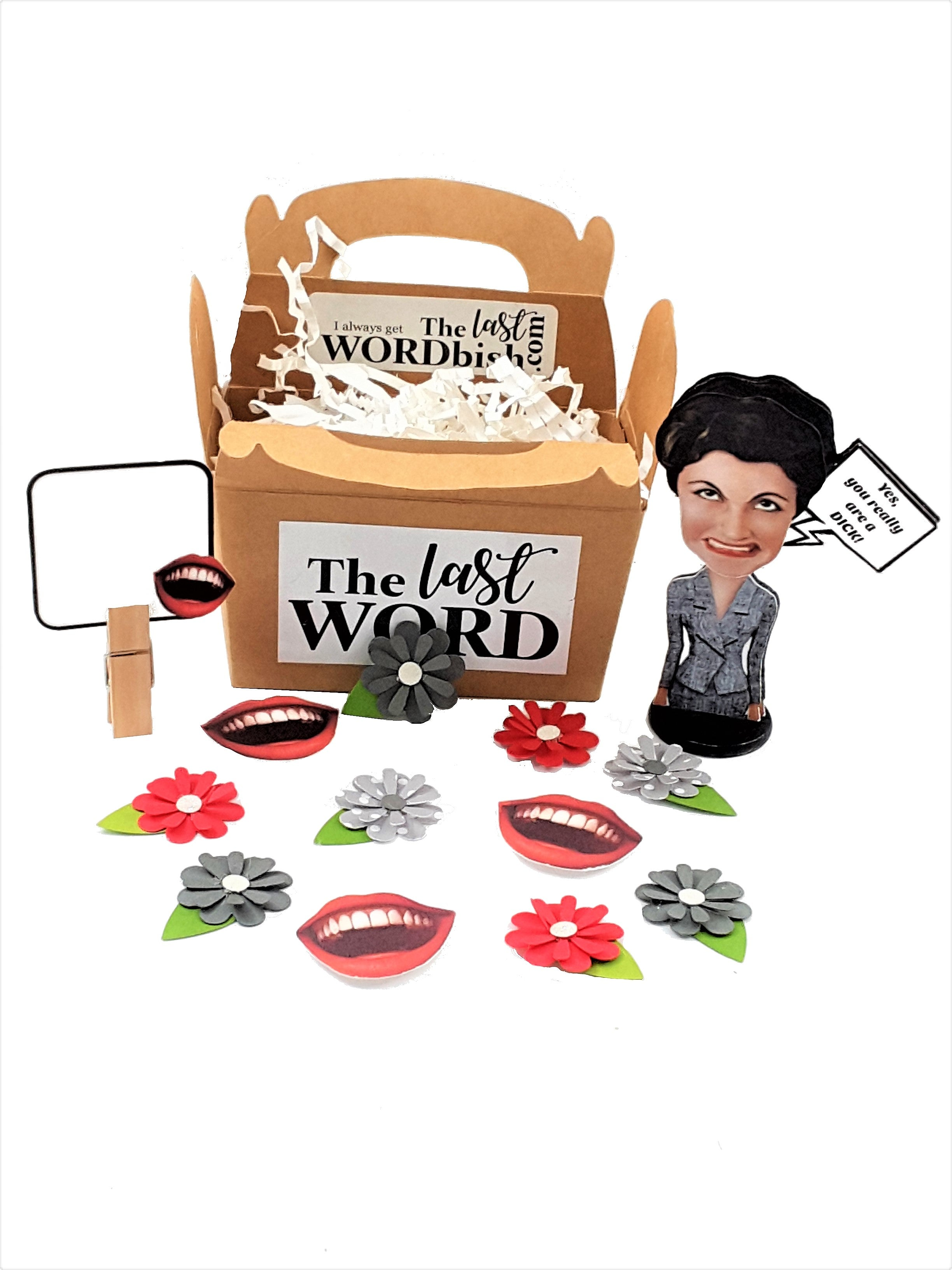 Business Woman Personalized 3D All Occasion Card - Choice of 5 different captions