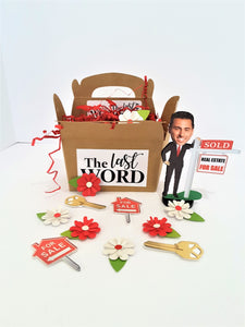 Realtor with Your face Custom 3D All-occasion card - TheLastWordBish.com