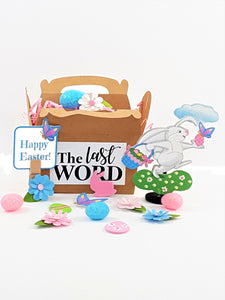 Custom Handmade 3D Easter Greeting card with goodies
