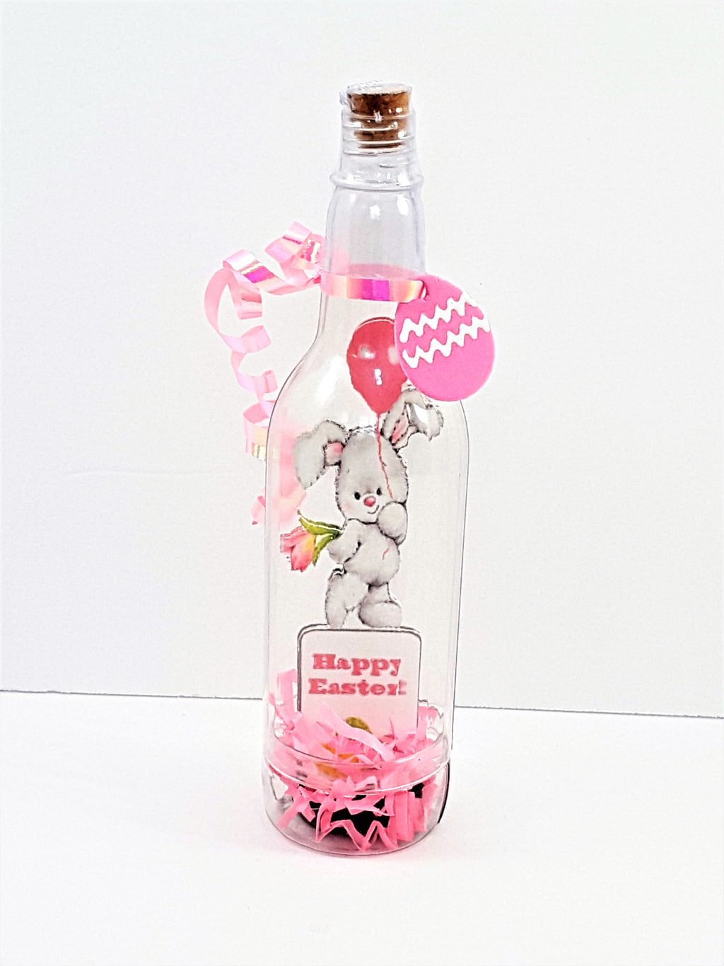 3D Easter Bunny Rabbit Message in a Bottle - TheLastWordBish.com