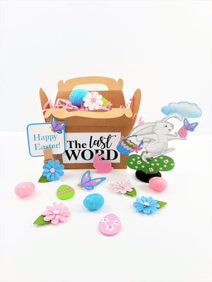 Easter 3D Easter Rabbit greeting card