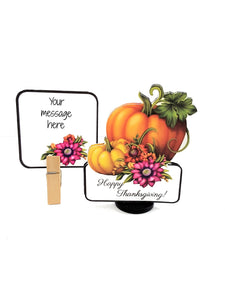 Custom 3D Thanksgiving Greeting Card Gift