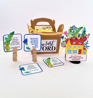 UNIQUE 3D REAL ESTATE PROMO OR NEW HOME GREETING CARD