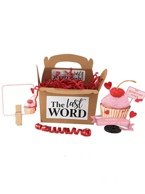 "Funny Valentine's Day Pop Up Greeting Card with Cupcake that says, ""My Significant Other"", A valentine for Best Friends, Coworkers, Family - TheLastWordBish.com"