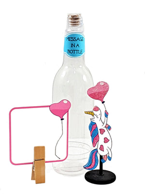 Personalized all-occasion unicorn in a bottle