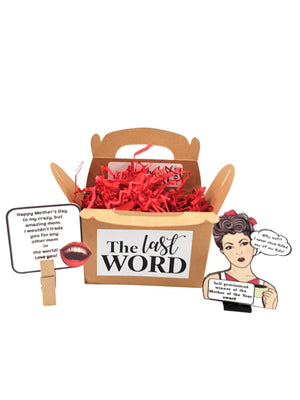 Funny Happy Mother's Day Personalized 3D Card - Mother of the Year - Version  #2 - TheLastWordBish.com