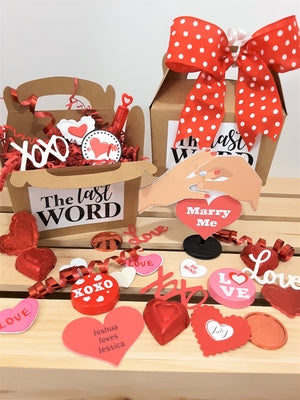 Marry Me Heart Personalized 3D Card - TheLastWordBish.com