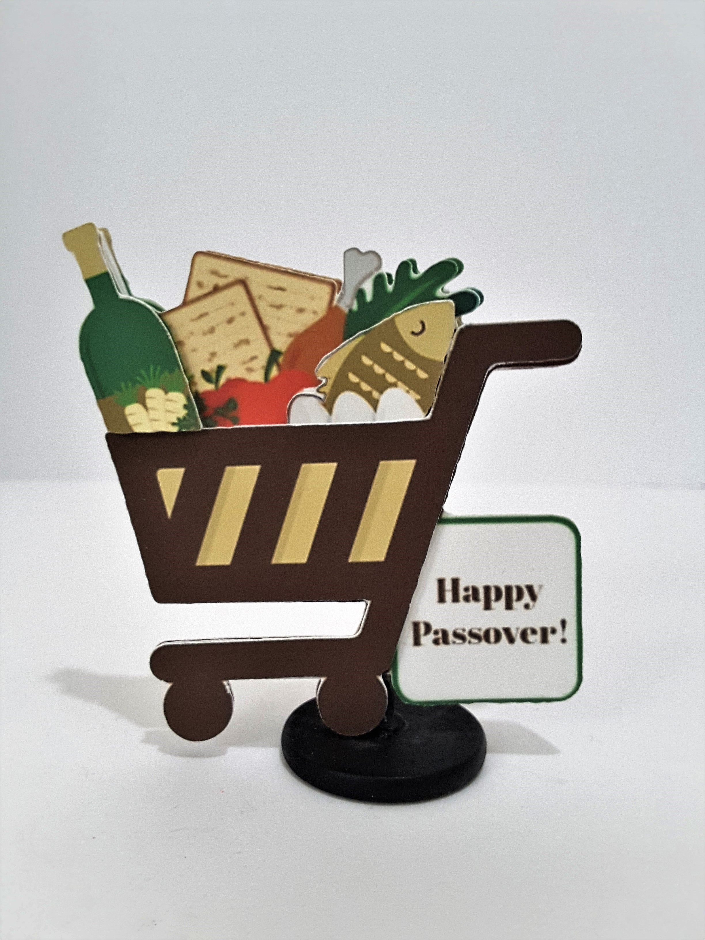 3D Passover Greeting Card Shop for Seder Dinner - TheLastWordBish.com