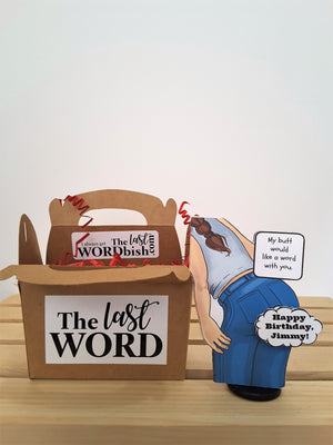 Personalized Talking Butts 3D All Occasion Card - Male & Female - TheLastWordBish.com