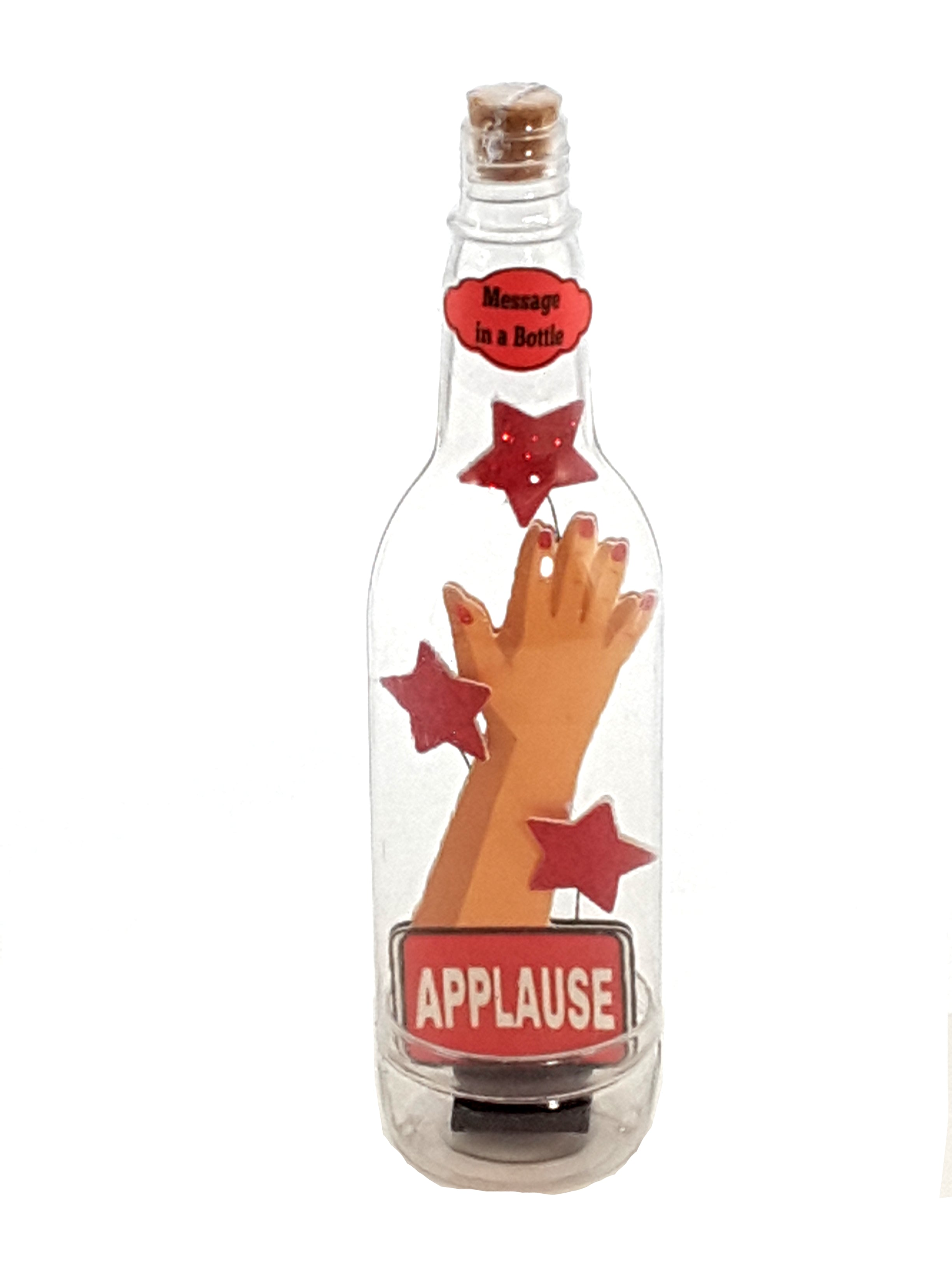 Personalized Message in a Bottle featuring Applause - Crushing it! - The Last Word Bish