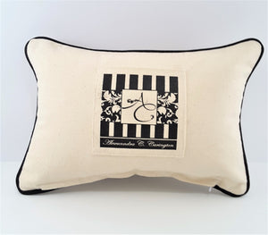 No Autographs Silk Screened Denim Pillow - Free Shipping! - TheLastWordBish.com