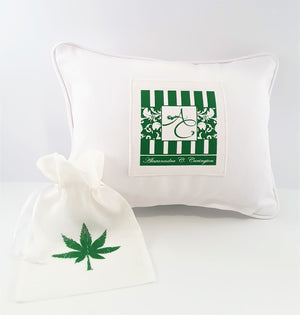 Don't Worry Be Happy Herb Pillow Cover