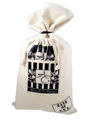 The Cash or Money Bag Prosperity Pillow - The Last Word Bish
