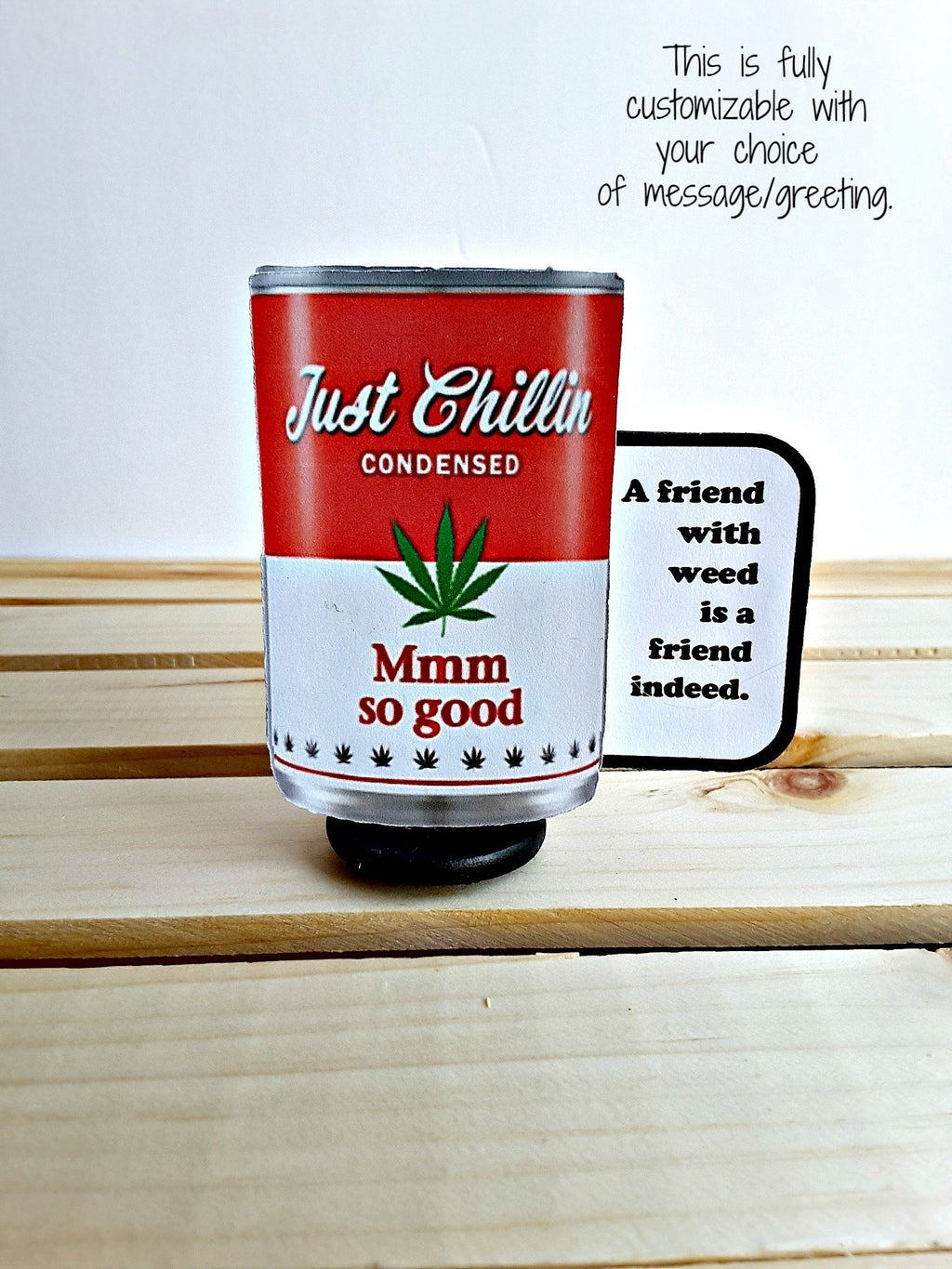 Personalized Mmm So Good Soup Can 3D All-Occasion Card - Choice of 2 versions - TheLastWordBish.com