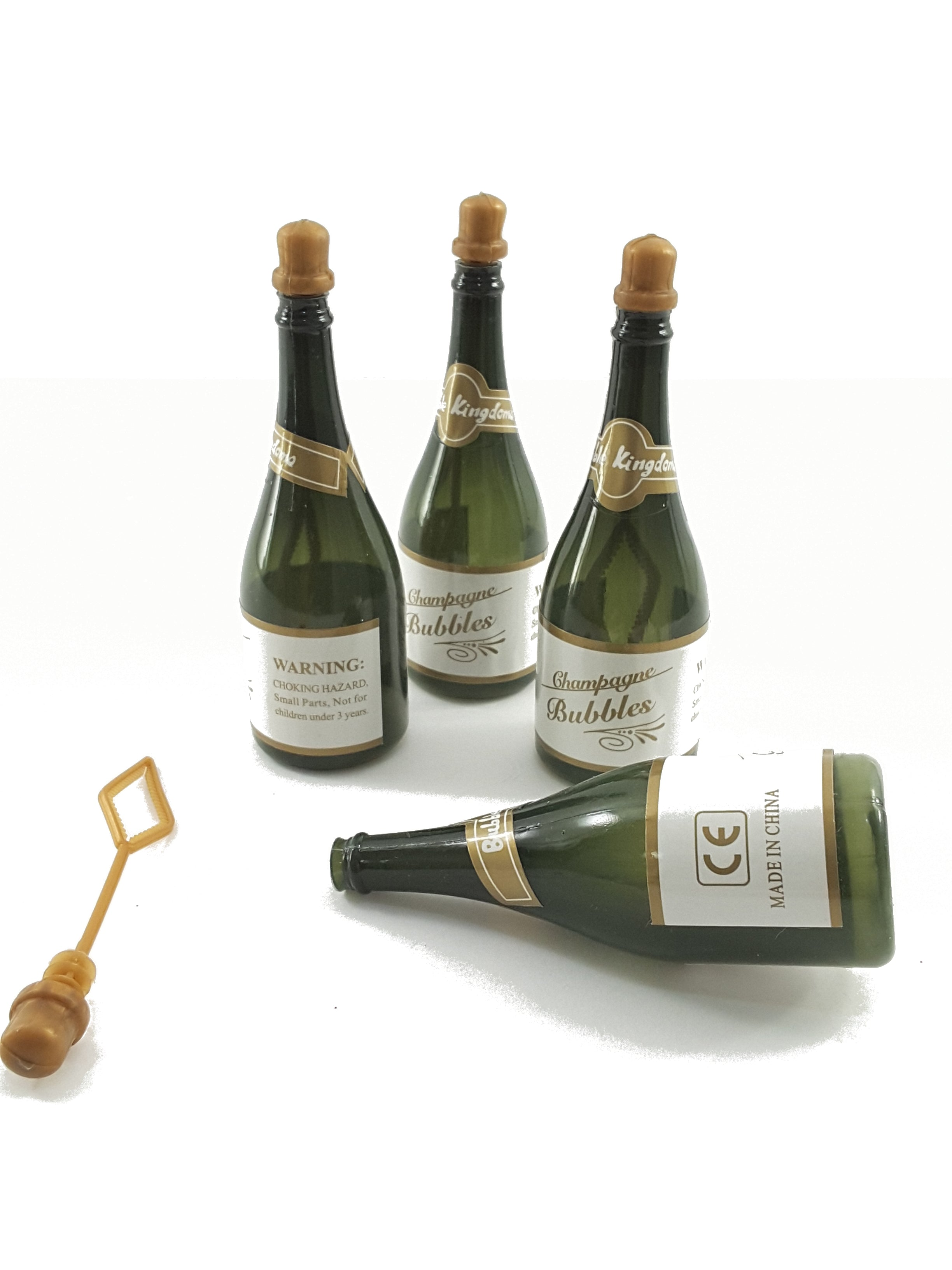 CHAMPAGNE BOTTLE BUBBLES TO ADD TO YOUR 3D GREETING CARD GIFT