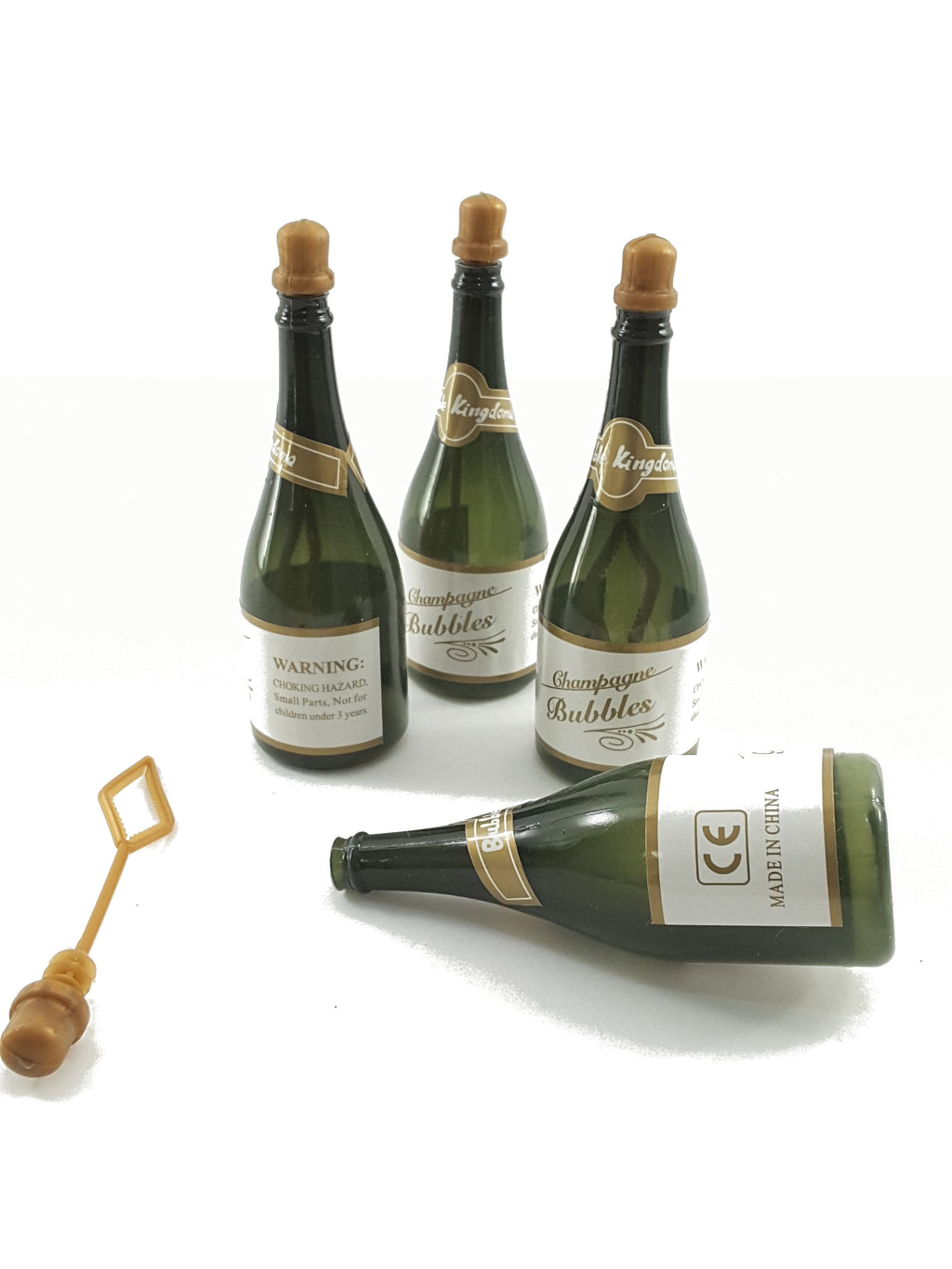 Champagne Bottle Bubbles to Add to Your 3D Greeting Card - TheLastWordBish.com