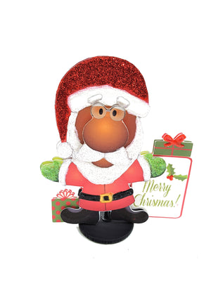 3D SANTA GREETING CARD