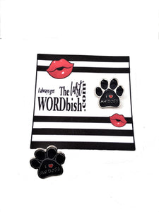 I love my Dogs Enamel Pin - free shipping! - TheLastWordBish.com