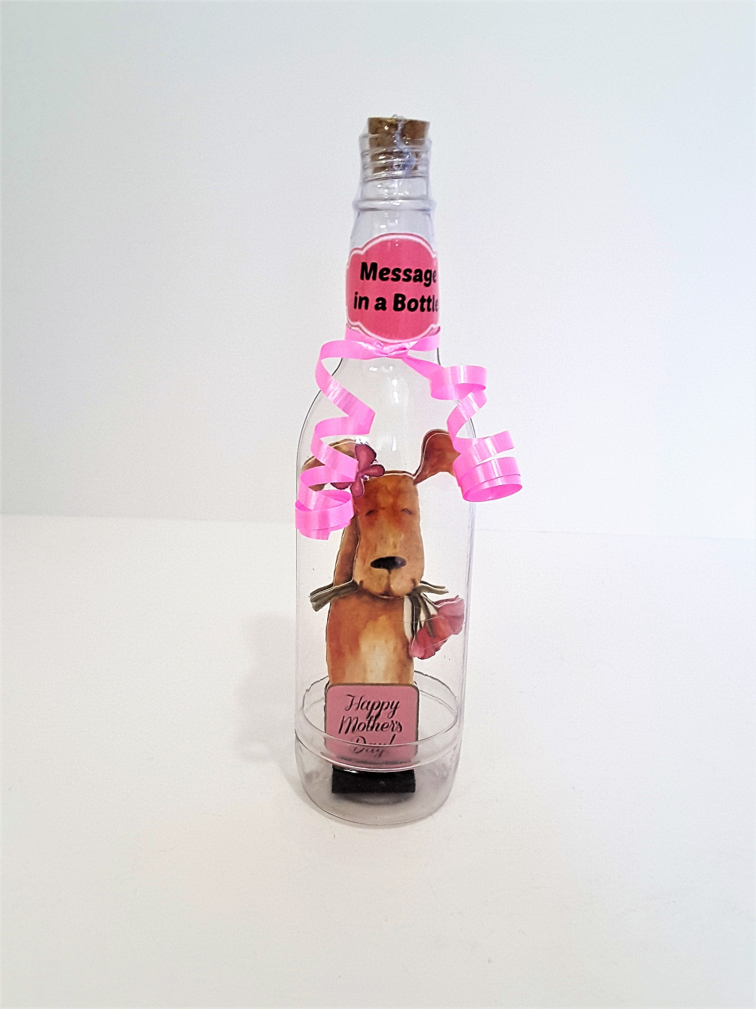 Doggie Message in a Bottle - TheLastWordBish.com