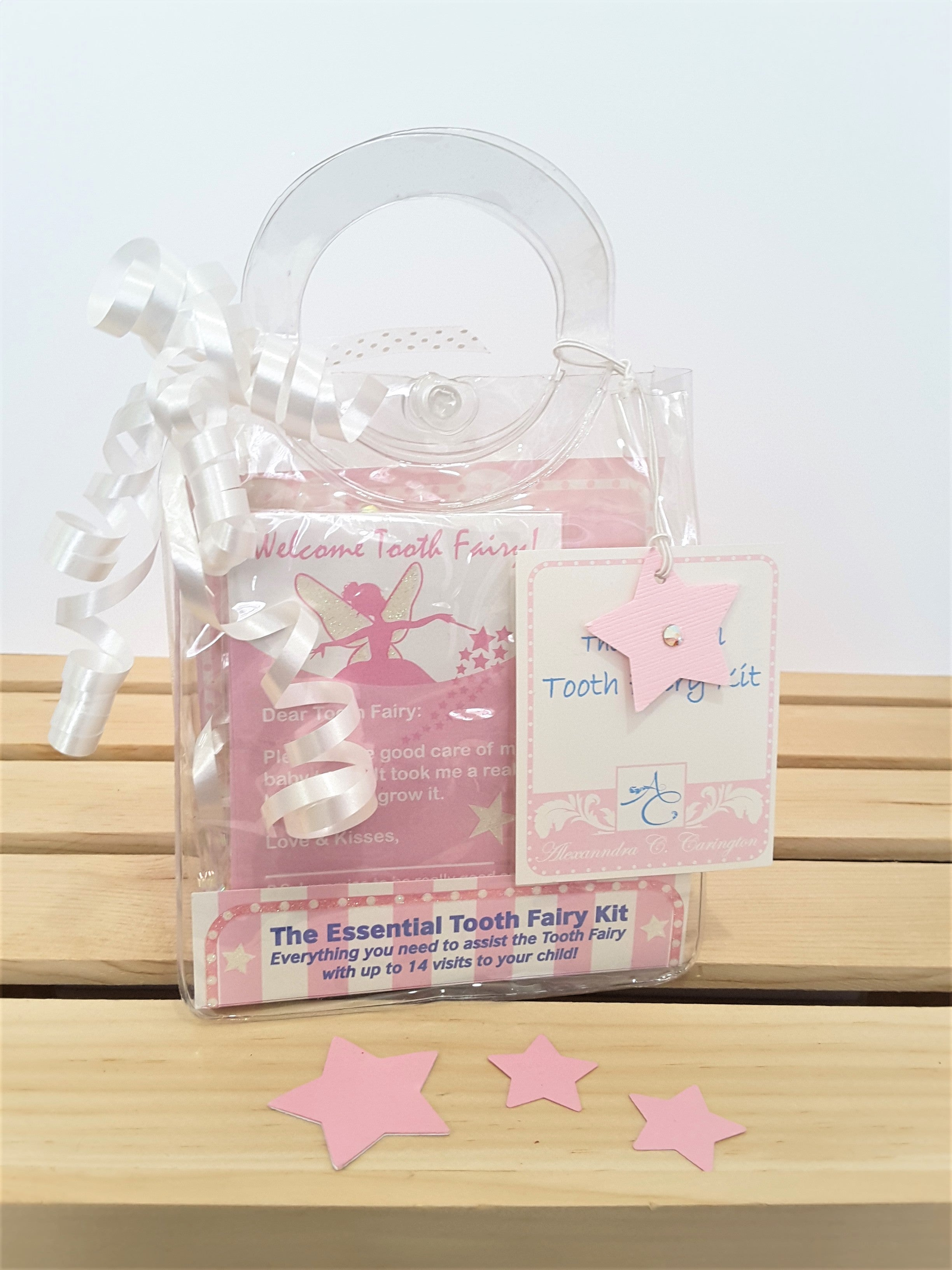 Tooth Fairy Kit in pink