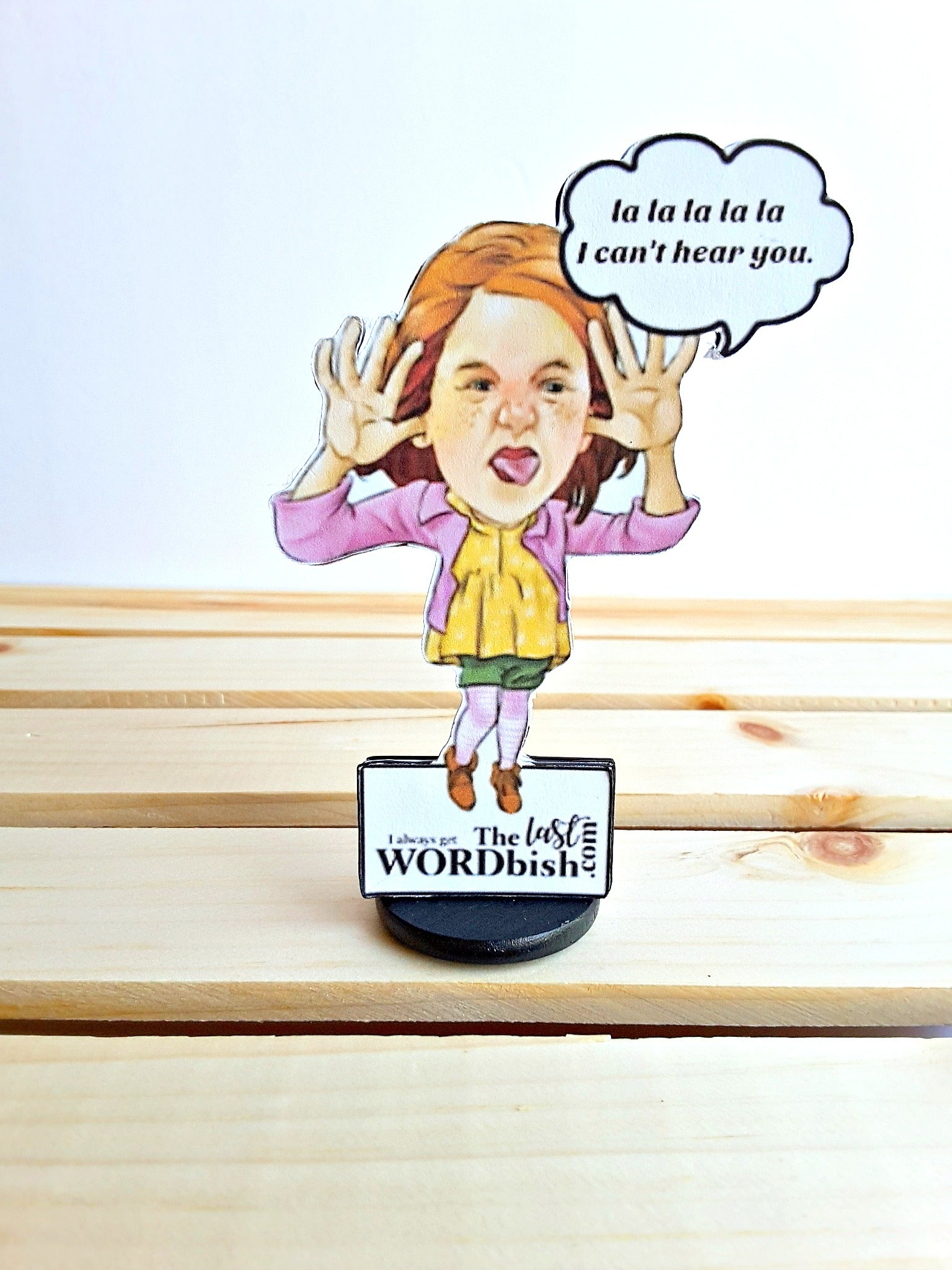 Little or Big Sister Personalized 3D All Occasion Greeting Card - 4 versions - TheLastWordBish.com