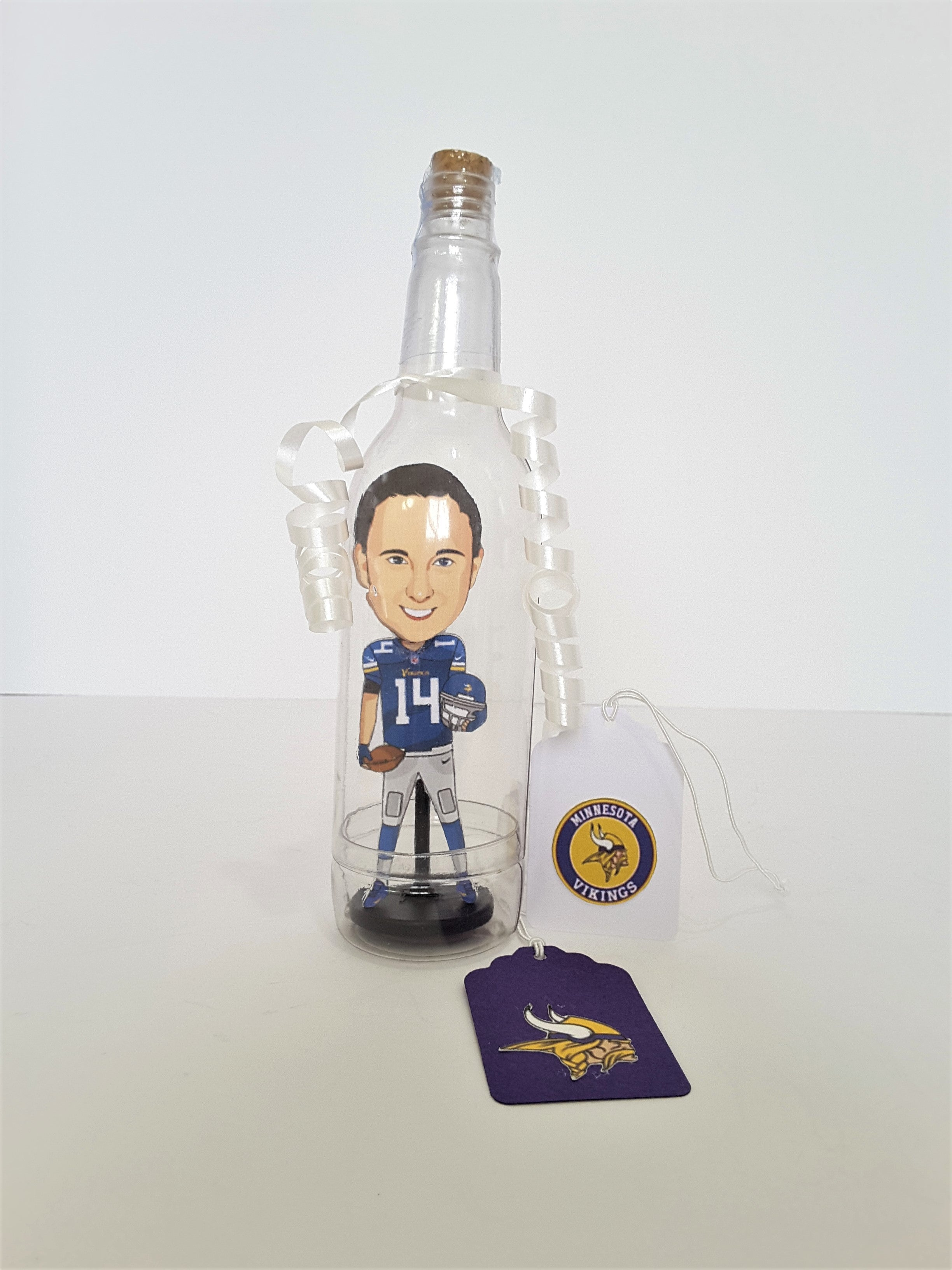 Your Caricature Message in a Bottle - Custom 3D Card & Rendering - TheLastWordBish.com