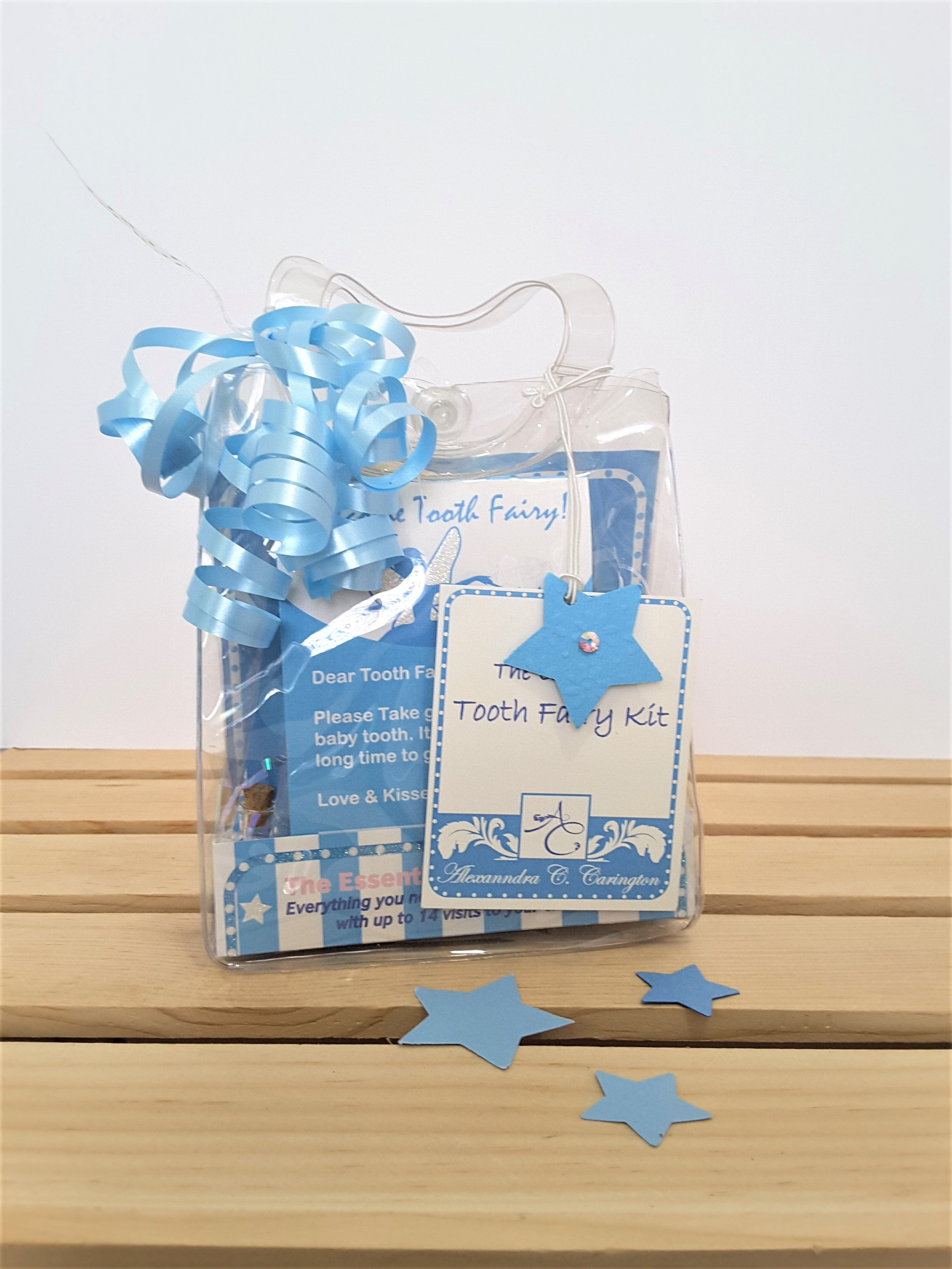 Tooth Fairy Kit in blue
