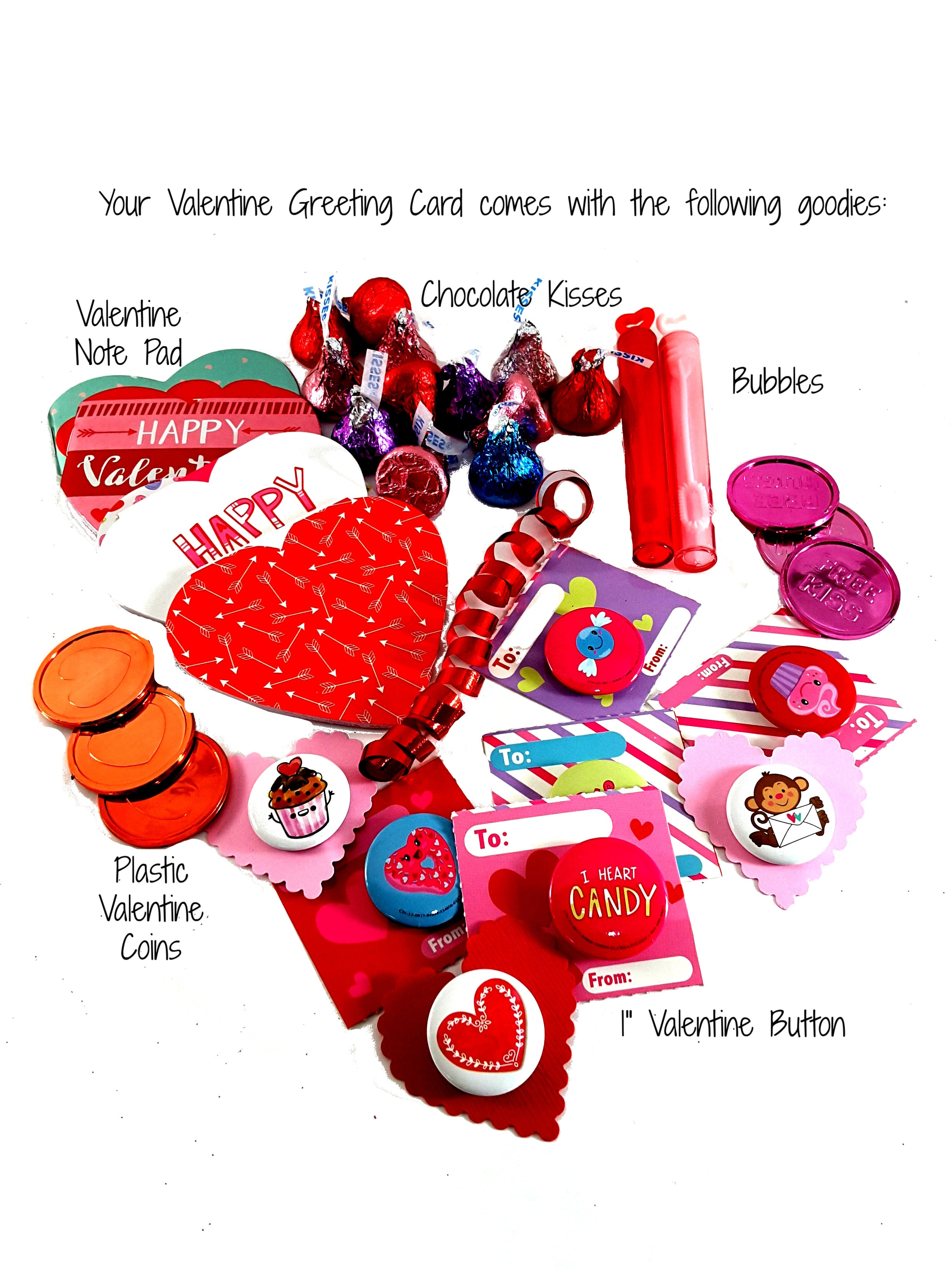 "Valentine's Day 3D card - ""I Made You a Valentine"" - TheLastWordBish.com"