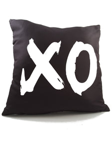 Pillow Cover with XO (Hug & Kiss) - TheLastWordBish.com