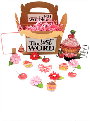 3D Cupcake Personalized All-Occasion Card - TheLastWordBish.com