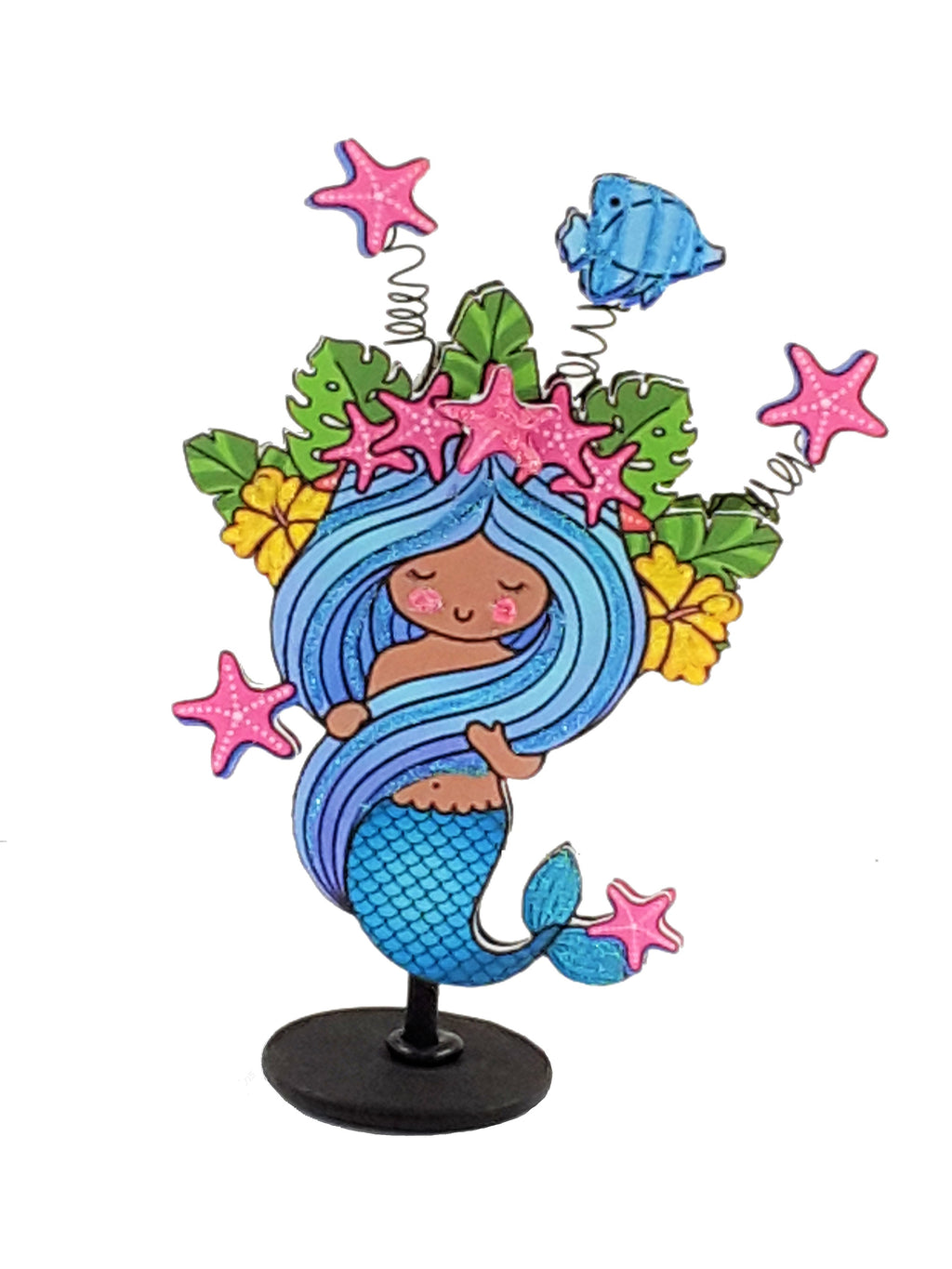 All Occasion Personalized 3D Mermaid card - TheLastWordBish.com