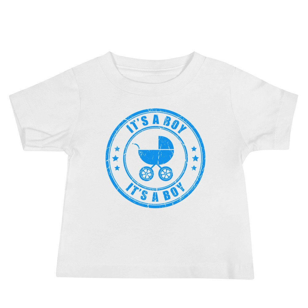 It's a Boy Baby Boy Jersey Short Sleeve Tee - TheLastWordBish.com
