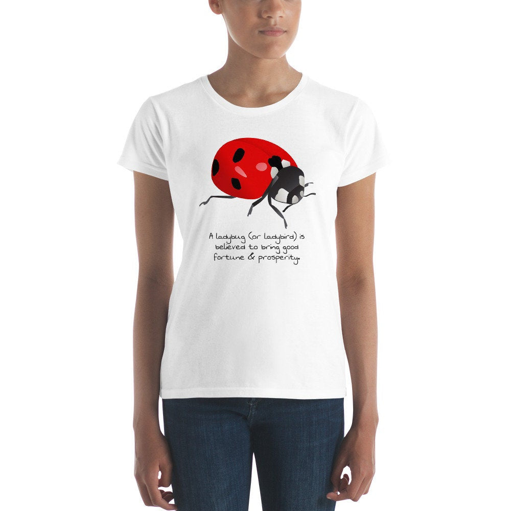 Ladybug Good Luck & Prosperity Women's T-shirt - TheLastWordBish.com