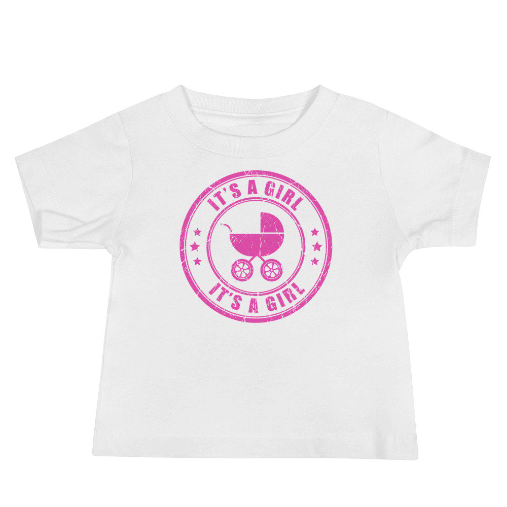 It's a Girl Baby 6-24 Month Jersey Short Sleeve Tee - TheLastWordBish.com