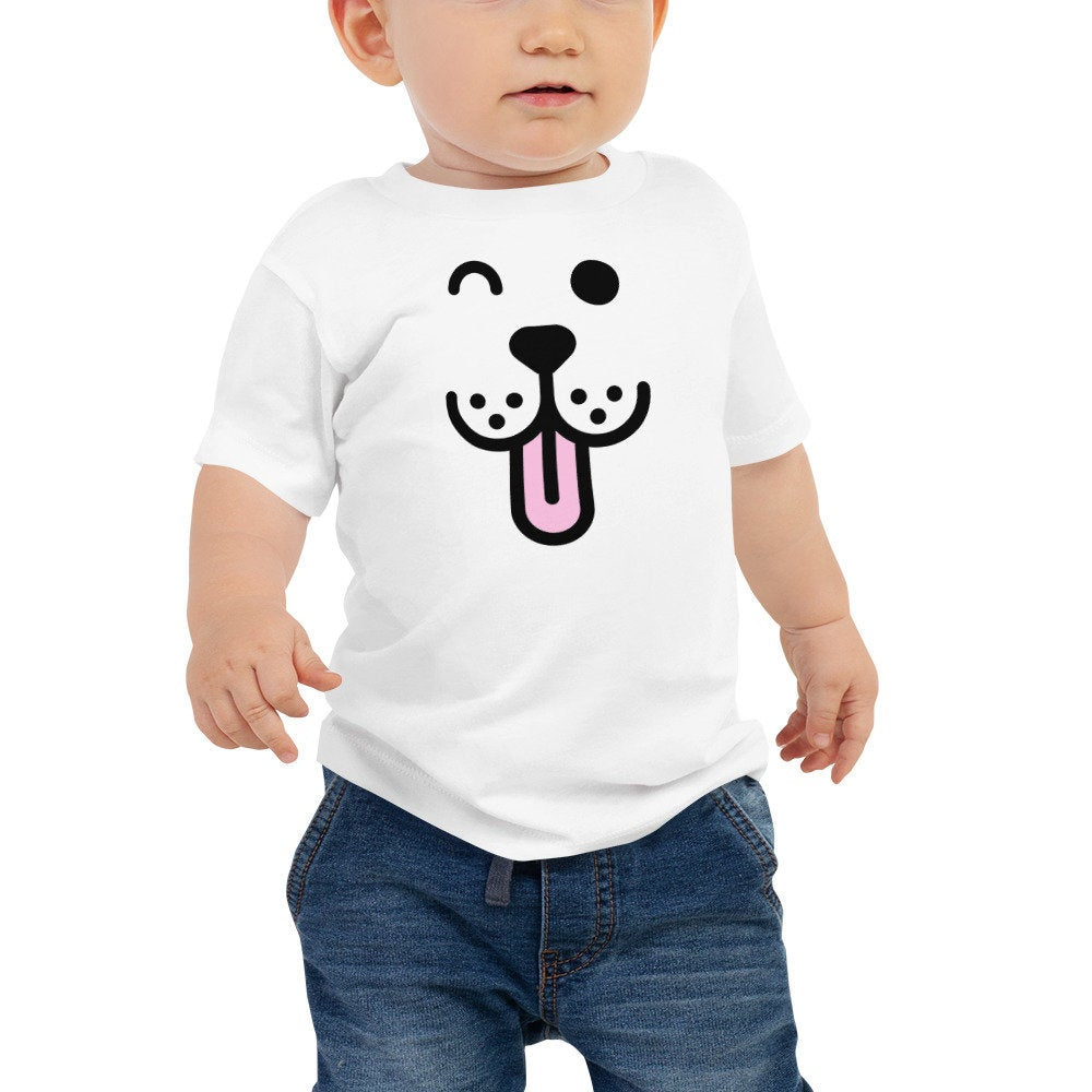 Puppy Face Unisex Baby T-shirt - The Last Word Bish