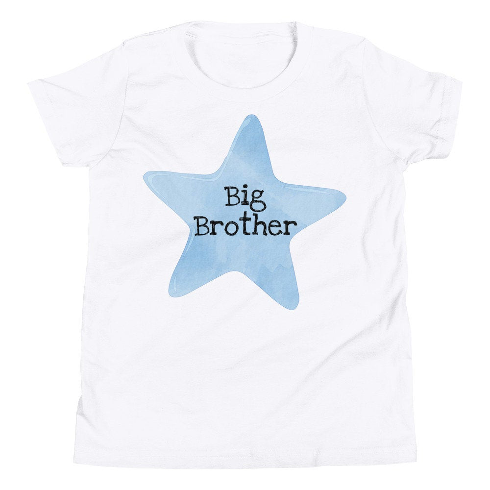 Blue Star Big Brother Unisex Youth T-Shirt - TheLastWordBish.com