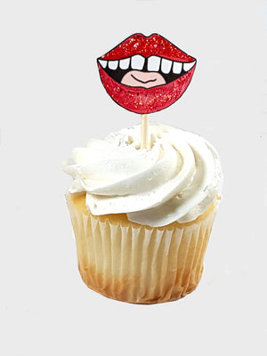 Funny Middle Finger Salute Cupcake Topper Collection with laughs and tongues for all occasion - TheLastWordBish.com