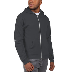 "Unisex Hoodie Zipper sweater jacket that reads, ""Cute butt, huh?"" - TheLastWordBish.com"
