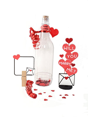 Will You Marry Me? Message in a Bottle, Romantic Marriage Proposal - TheLastWordBish.com