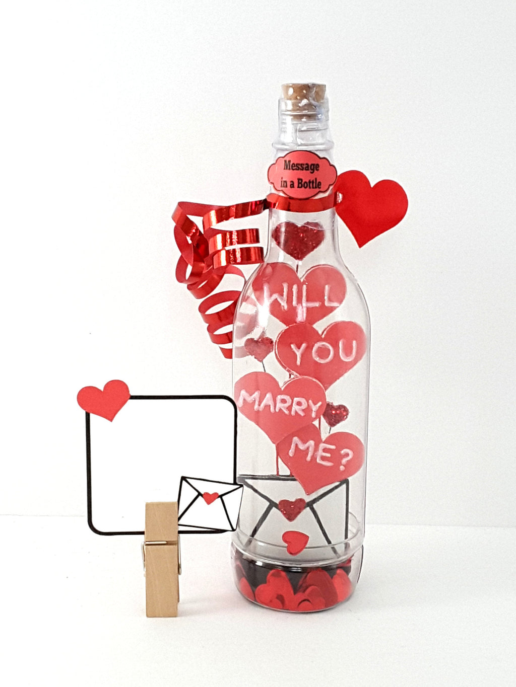 Will You Marry Me? Message in a Bottle, Romantic Marriage Proposal, Marriage Proposal Keepsake, Valentine Proposal, Valentine's Card - TheLastWordBish.com