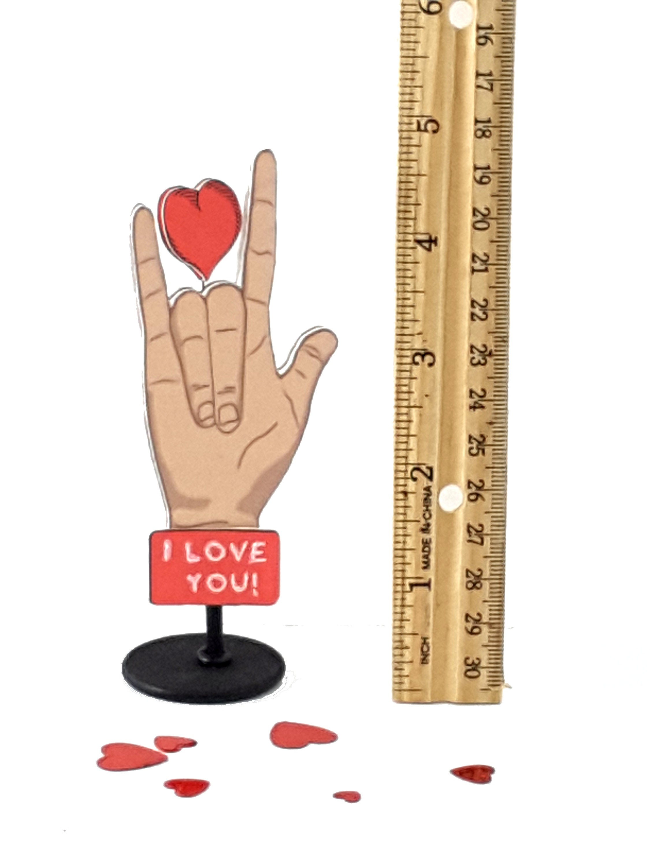 I Love You in Sign Language Message in a Bottle - TheLastWordBish.com