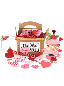 Valentine's Day Pop Up Greeting Card with Cupcake - TheLastWordBish.com